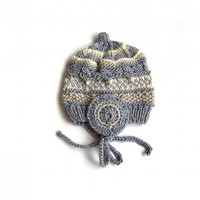 Newborn Silk/Wool Hat, Very Soft, W.. on Luulla