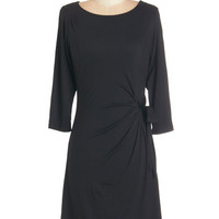 ModCloth Mid-length 3 Wrap Classically Charming Dress