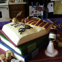 An Amazing Harry Potter Cake