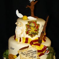 Harry Potter cake  | Flickr - Photo Sharing!
