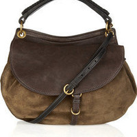 Miu Miu Suede and leather shoulder bag!