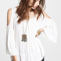 Women's Free People 'Chloe' Solid Blouse