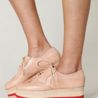 Jeffrey Campbell Stacked Wingtip at Free People Clothing Boutique