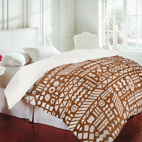 DENY Designs Home Accessories | Nick Nelson Northwoods Pattern Duvet Cover