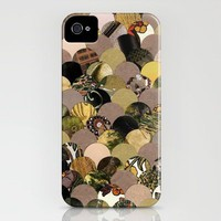 Autumn Scalloped Pattern iPhone Case by ElephantTrunkStudio | Society6