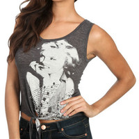 Hollywood Crop Tie Tank | Shop Just Arrived at Wet Seal