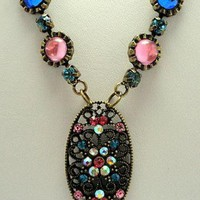 Dream in Color Necklace by EveblueBeadery on Zibbet