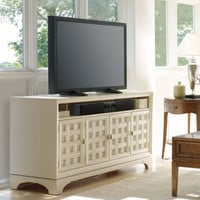 PoshLiving - Huntington TV Console in Creme - Product Images