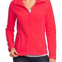 Women&#x27;s Micro Performance Fleece Zip Jackets | Old Navy