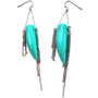 RZ Jewelry Shop - Turquoise Silver Earrings