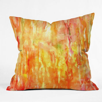 Rosie Brown Shower of Color Throw Pillow - Indoor /
