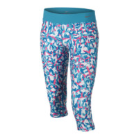 Nike Legend Allover Print Tight Fit Girls' Training Capris