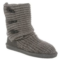 Bearpaw Tall Sweater Button Boots in Grey for Women (6)