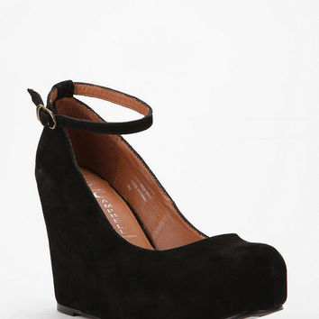 Jeffrey Campbell Suede Adelaide Wedge