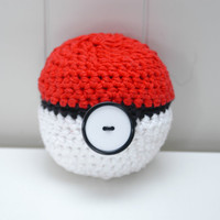 Pokeball Apple Cozy by lisavonli on Etsy