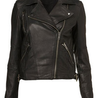 Traditional Leather Jacket - Grunge  - Collections