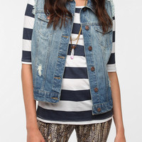 BDG Cutoff Denim Vest