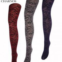 Mary Portas & Charnos Baroque Floral Tights - Tights, Stockings, Shapewear and more -  MyTights.com - The Online Hosiery Store