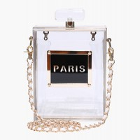 I Prefer PARIS Perfume Purse