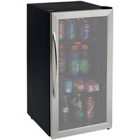 Walmart: Avanti 3.1 cu ft Beverage Cooler, Stainless Steel