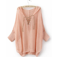 Product search_Hooded Hollow Asymmetrical Sweater_udobuy - Fashion Dress with Free Shipping