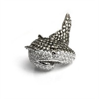 nOir Jewelry - Rings - Natalie the Shark