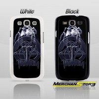 Trivium Krakaos Pentagram Black Metal Band Logo Samsung Galaxy S3 Case