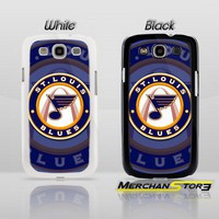 St Louis Blues Logo Samsung Galaxy S3 Case