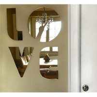 ADZif Eko Love Wall Decal - M1005 - All Wall Art - Wall Art &amp; Coverings - Decor