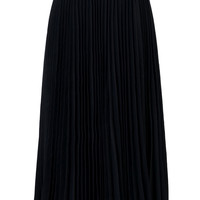 Black Pleated Maxi Skirt - New Arrivals - Retro, Indie and Unique Fashion