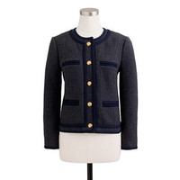 Lady jacket in double-serge wool