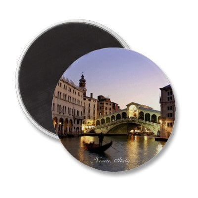 Venice, Italy - Magnetic Button from Zazzle.com