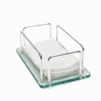 Guest Towel Tray in Chrome