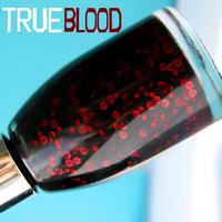 Nail Polish: True Blood  -  Glitter Nail Polish / Lacquer, Varnish, Polish