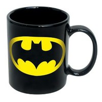 Amazon.com: Batman Logo Black Mug: Kitchen & Dining