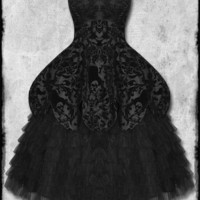 59.99GBP Hell Bunny Lavintage Victorian Steampunk Prom Dress | Hell Bunny Gothic Wedding Dress