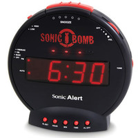 The Thunderclap Alarm Clock - Hammacher Schlemmer