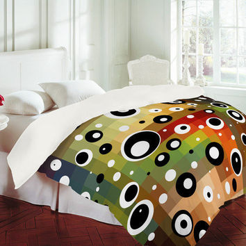 DENY Designs Home Accessories | Madart Inc. Polka Dots Forgotten Promise Duvet Cover