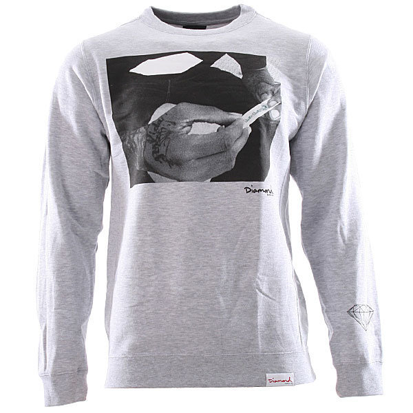 Diamond Supply Co. Diamond Kush Crewneck - Heather at Urban Industry