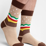 Unisex Hamburger Socks