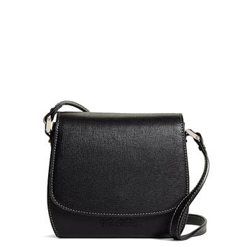 Leather Crossbody Bag - Brooks Brothers