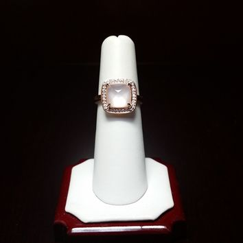 Rose Quartz Ring – Great Holiday Gift for Her!!!