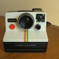 Polaroid One Step Land Camera Tested and Works Vintage by BYBots