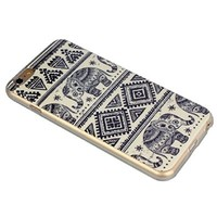 Sannysis(TM)New Tribal Elephant Case Soft TPU Cover Case For iPhone 6 Plus 5.5 inch
