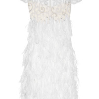 Marchesa | Embellished silk-tulle dress | NET-A-PORTER.COM