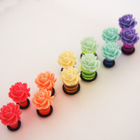 Glamsquared — Flower Blossom Acrylic Plugs