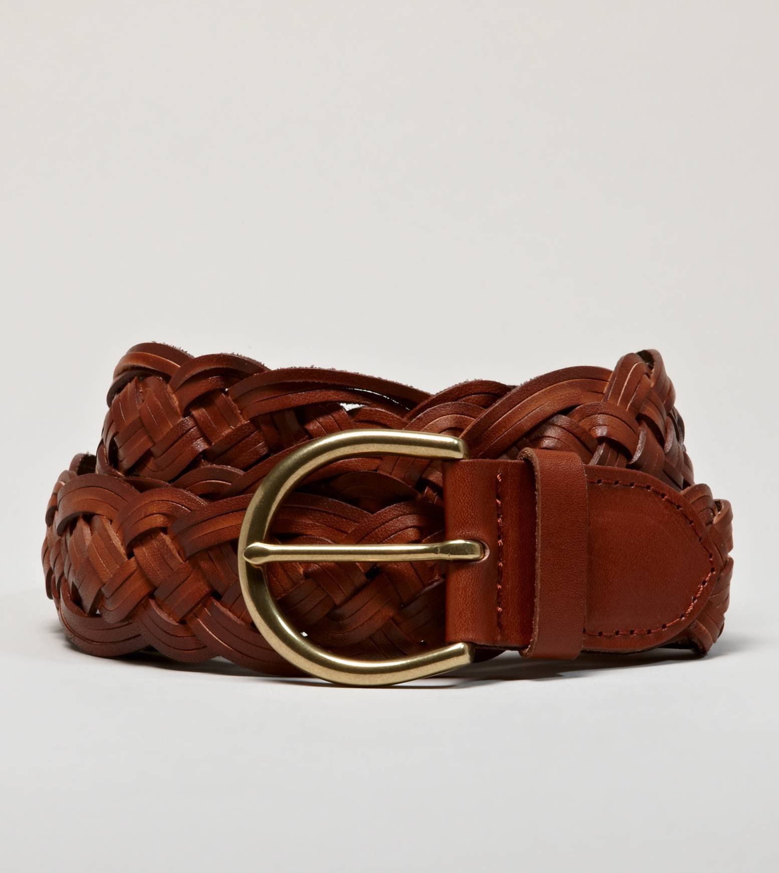 aeo braided leather belt american eagle from american eagle