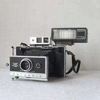 Vintage Polaroid 360 Land Camera with Electronic by Flyingace