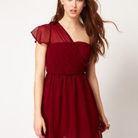 Glamorous One Shoulder Dress at asos.com