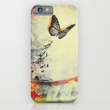 Waterfly III iPhone & iPod Case by SensualPatterns